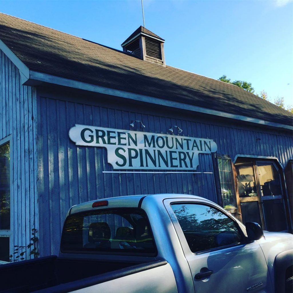 We got to tour greenmountainspinnery yesterday and see how thehellip