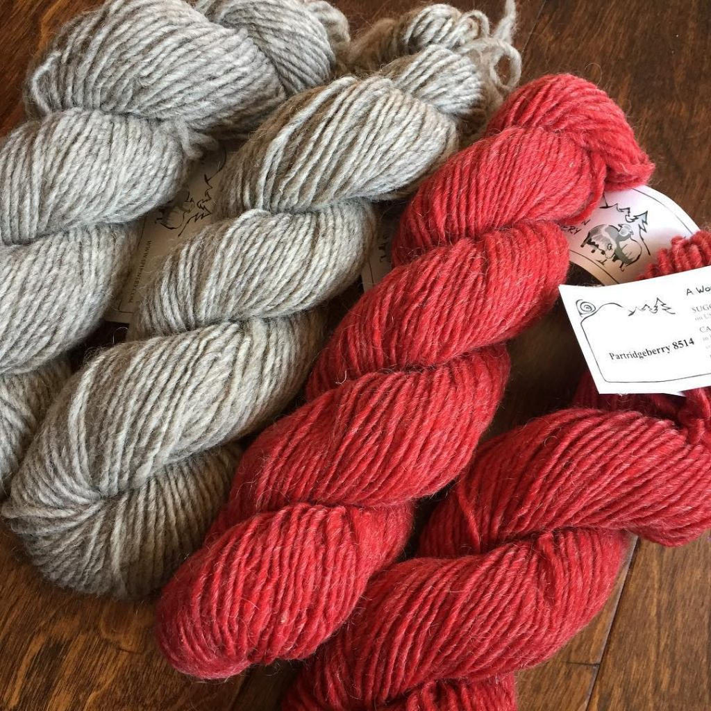 In honor of iloveyarnday I give this gorgeous wool andhellip