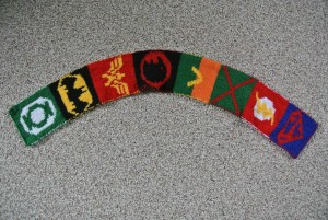 Justice League scarf 1