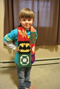Justice League scarf 3